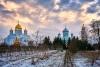 Three churches of Diveyevo Monastery