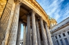Saint Petersburg, Russia. 11 March 2014. Columns of Kazan Cathedral. © Igor Ilyutkin